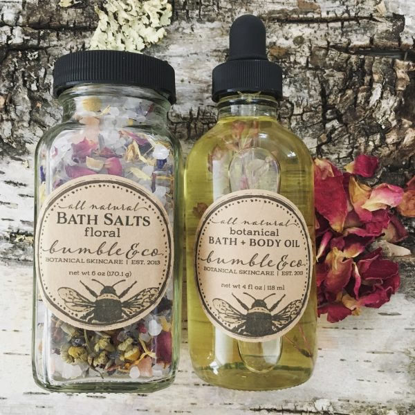 botanical bath set