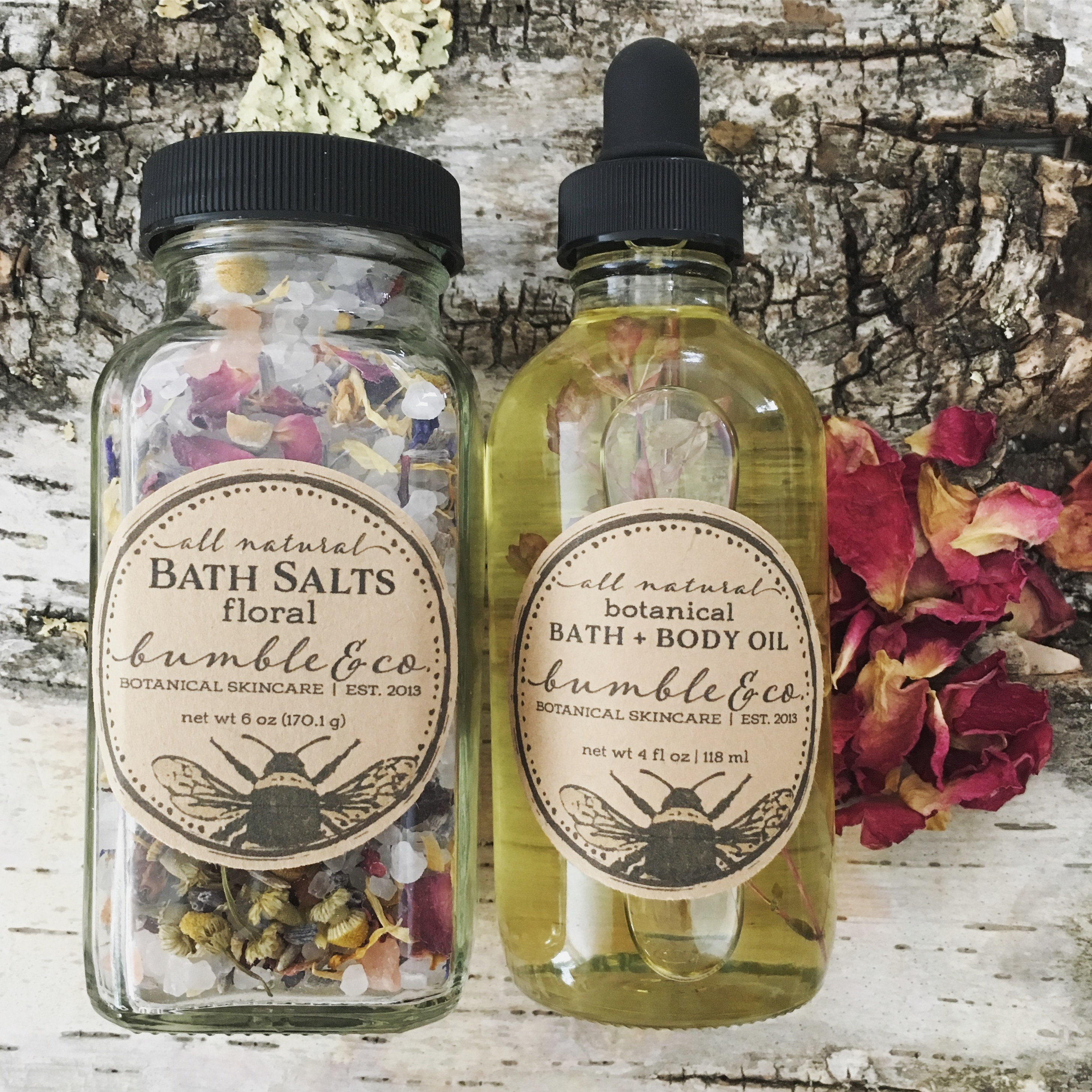 botanical bath set